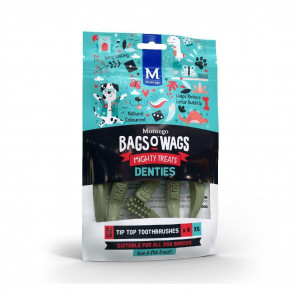 Montego Bags 'O Wags Toothbrush Denties Dog Treat -X-Small