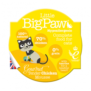 Little Big Paw Gourmet Chicken Mousse Cat Food