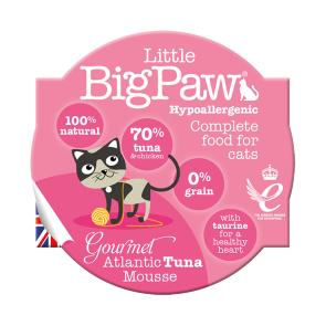 Little Big Paw Gourmet Atantic Tuna Mousse Cat Food