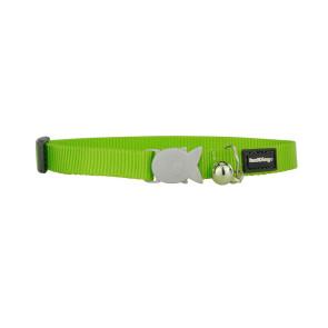 RedDingo Cat Collar- Lime Green