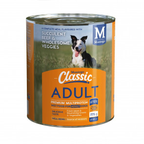Montego Classic Succulent Beef & Wholesome Veggies Canned Dog Food