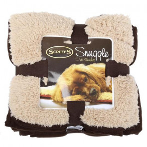 Scruffs Cosy Snuggle Pet Blanket - Chocolate