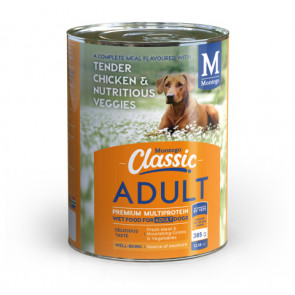 Montego Classic Tender Chicken & Nutritious Veggies Canned Dog Food