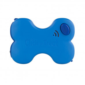 blue dog treat dispenser