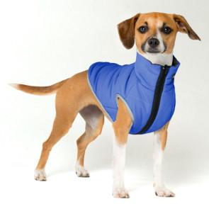 Rogz PufferSkin Dog Jacket - Blue