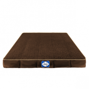 Sealy Cushy Comfy Dog Bed Replacement Cover - Autumn Brown