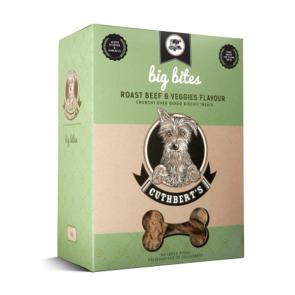 Cuthbert's Roast Beef & Veggies Large Bites Dog Biscuits
