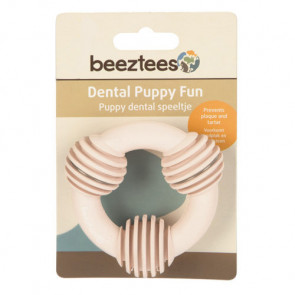 Beeztees Puppy Dental Ring - Pink