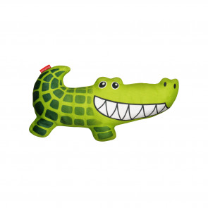 Red Dingo Durables Plush Dog Toy - Kyle the Crocodile