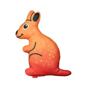 Red Dingo Durables Plush Dog Toy - Kath the Kangaroo