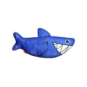 Red Dingo Durables Plush Dog Toy - Steve the Shark