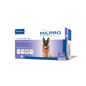 Virbac Milpro Dog Deworming Tablet - 5kg +
