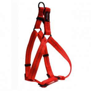 Dog's Life Reflective Supersoft Webbing Step-in Dog Harness-Red