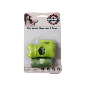 Sprogley Dog Waste Dispenser & Bags