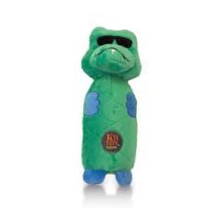 Charming Pets Gator Bottle Bro Small Dog Plush Toy
