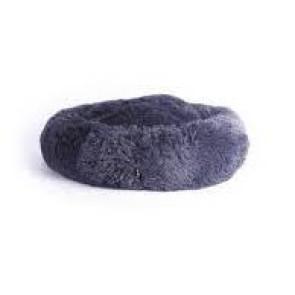 M-Pets Tahiti Soft Cushion Pet Bed - Dark Grey