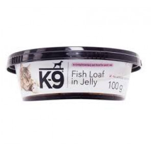 K-9 Fish Loaf in Jelly Cat Food Tub