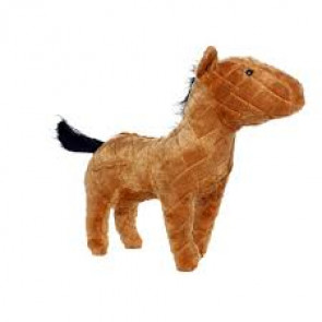Mighty Toys Mighty Farm Horse Plush Dog Toy