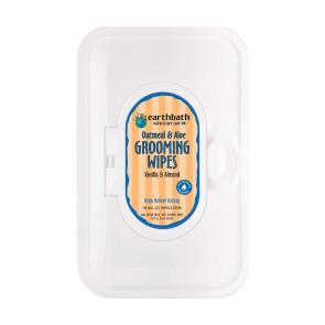 Earthbath Oatmeal & Aloe Dry Skin Pet Grooming Wipes - Pack of 100
