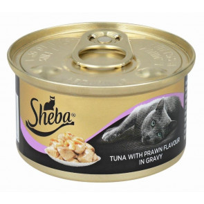 Sheba Tuna with Prawn in Gravy Cat Food
