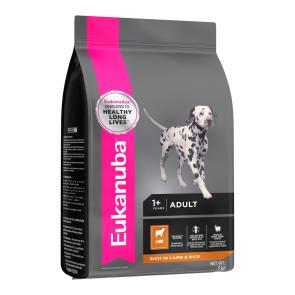 Eukanuba Adult Small and Medium Breed Lamb & Rice Dog Food