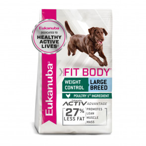 Eukanuba Fit Body Weight Control Chicken Large Adult Dog Food