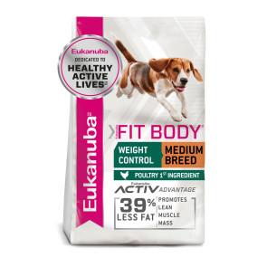 Eukanuba Fit Body Weight Control Chicken Medium Adult Dog Food