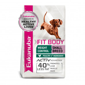 Eukanuba Fit Body Weight Control Chicken Small Adult Dog Food