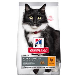 Hill's Science Plan Chicken Sterilised Mature Adult 7+ Cat Food