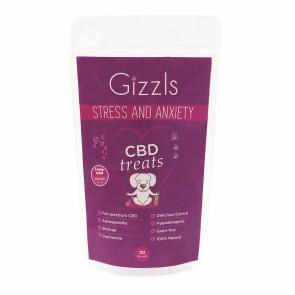 Gizzls Stress & Anxiety Chamomile CBD Dog Treats - 10mg