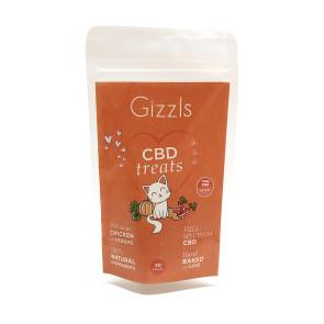 Gizzls Chicken CBD Cat Treats - 3mg