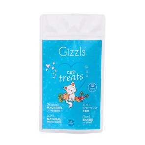 Gizzls Fish CBD Cat Treats - 3mg