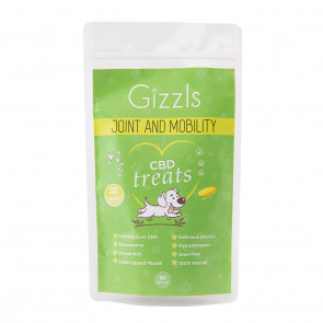Gizzls Joint & Mobility Large CBD Dog Treat