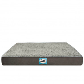 Sealy Cushy Comfy Dog Bed Replacement Cover- Modern Grey