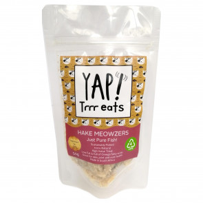 Yap! Hake Meowzers Cat Treats - 50g