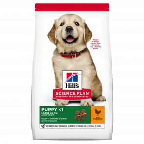 Hill's Science Plan Canine Large Breed Puppy Chicken Dog Food
