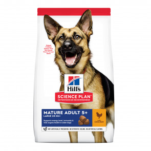 Hill's Science Plan Chicken Large Breed Mature Adult 5+Dog Food