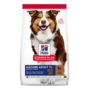 Hill's Science Plan Lamb & Rice Mature Medium Adult 7+ Dog Food