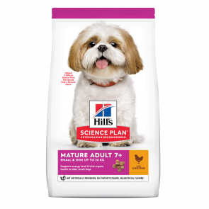 Hill's Science Plan Mature Adult Small & Mini 7+ Chicken Dog Food