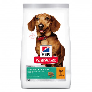 Hill's Science Plan Perfect Weight Chicken Small & Mini Adult Dog Food