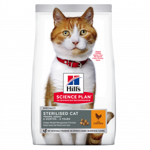 Hill's Science Plan Sterilised Young Adult Cat Food