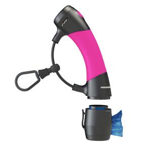 I'm Gismo Handle with Poop Bag Dispenser - Hot Pink