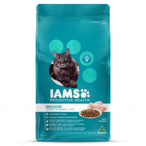 Iams Indoor, Weight & Hairball Care With Chicken Cat Food
