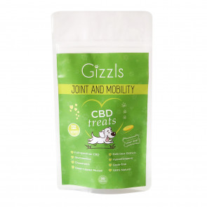 Gizzls Joint & Mobility Small Dog CBD Treat