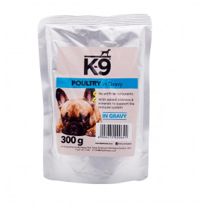 K-9 Poultry in Gravy Dog Food Pouch