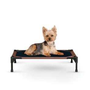 K&H Original Pet Cot Elevated Dog Bed - Chocolate