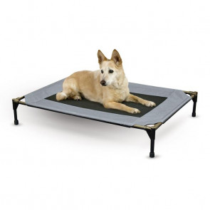 K&H Original Pet Cot Elevated Dog Bed - Grey