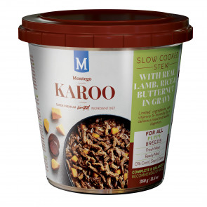 Montego Karoo Lamb Wet Puppy Food Tub Bulk Pack - 12x380g