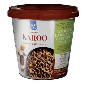 Montego Karoo Lamb Wet Puppy Food Tub Bulk Pack - 12x380g