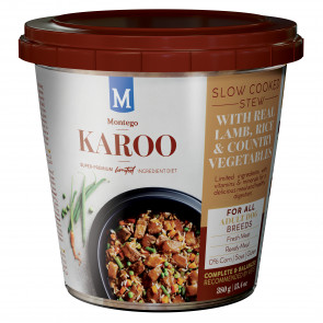 Montego Karoo Lamb Adult Wet Food Tub Bulk Pack - 12x380g